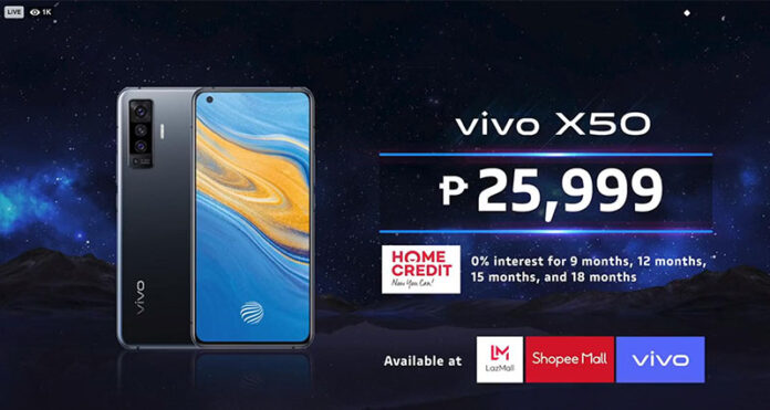 vivo and Chevrolet define smooth navigation, sophistication, and speed with new X50 Series