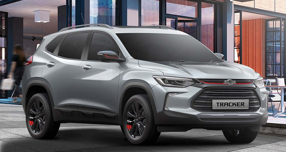 Chevrolet rolls out the all-new Tracker