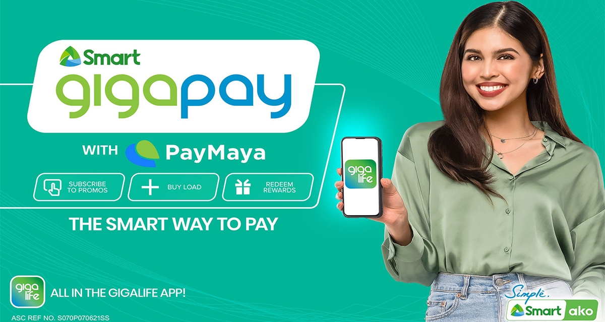 Smart elevates GigaLife App with innovative 'GigaPay with PayMaya' feature